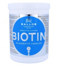 Kallos Cosmetics Biotin Hair Mask 1000ml naisille 14099