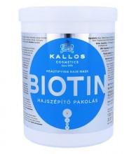 Kallos Biotin Hair Mask Cosmetic 1000ml naisille 14099