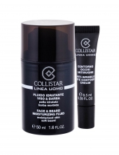 Collistar Linea Uomo Moisturizing Fluid 50 ml + Anti-Wrinkle Eye Contour Cream 8,5 ml miehille 84196