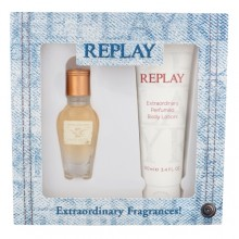 Replay Jeans Original! For Her EDT 20 ml + body lotion 100 ml naisille 20226
