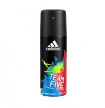 Adidas Team Five Deodorant 150ml miehille 50922
