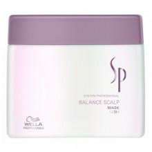 Wella SP Balance Scalp Mask Cosmetic 200ml naisille 85544