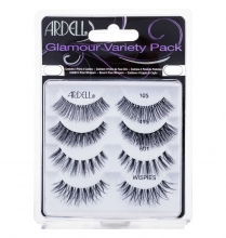 Ardell Glamour 1 pair of Lashes + 1 pair of Lashes Glamour 415 + 1 pair of Lashes Glamour 601 + 1 pair of Lashes Glamour Wispies Black naisille 01667