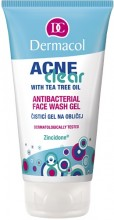 Dermacol AcneClear Antibacterial Face Wash Gel Cosmetic 150ml naisille 35623