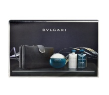 Bvlgari Aqva Pour Homme Edt 100ml + 75ml shower gel + 75ml after shave balm + cosmetic bag miehille 05004