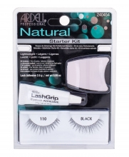 Ardell Natural Fake eyelashes Demi Wispies 110 1 couple + Algae adhesive 2,5 g + applicator Black naisille 24060
