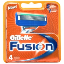Gillette Fusion Replacement blade 4pc miehille 66984