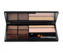 Makeup Revolution London Ultra Brow Palette For Eyebrows 18,98g Medium To Dark naisille 52926