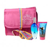 Escada Island Kiss (Paradise) 2011 Edt 50ml + 50ml Body lotion + Cosmetic bag naisille 56598