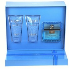 Versace Man Eau Fraiche Edt 50ml + 50ml Shower gel + 50ml After shave balm miehille 95257
