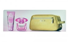 Versace Bright Crystal Absolu Edp 90ml + 100ml body milk + cosmetic bag naisille 20078