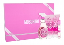 Moschino Fresh Couture Pink Edt 100 ml + Body Lotion 100 ml + Shower Gel 100 ml + Edt 10 ml naisille 42421