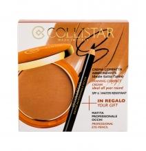 Collistar Tanning Compact Cream Cream Powder 9 g + Eyeliner 0,80 g 4 Caribbean naisille 61043