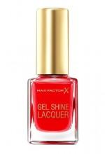 Max Factor Gel Shine Nail Polish 11ml 50 Radiant Ruby naisille 91234
