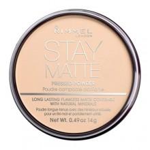 Rimmel London Stay Matte Powder 14g 003 Peach Glow naisille 64529