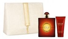 Yves Saint Laurent Opium 2009 Edt 50ml + 50ml Body lotion + Cosmetic bag naisille 99606