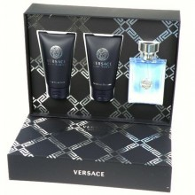 Versace Pour Homme Edt 50ml + 50ml Shower gel + 50ml After shave balm miehille 96704