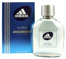 Adidas Ice Dive Aftershave Water 100ml miehille 30155