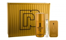 Paco Rabanne 1 Million Edt 50 ml + Deodorant 150 ml + Edt 10 ml miehille 75626