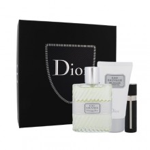 Christian Dior Eau Sauvage Edt 100 ml + Shower gel 50 ml + Edt refillable 3 ml miehille 15289