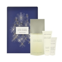 Issey Miyake L´Eau D´Issey EDT 125ml + 75ml Shower Gel + 50ml Aftershave Balm miehille 73951