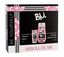 B.U. Absolute Me Deodorant 75 ml + Shower Gel 250 ml naisille 03168