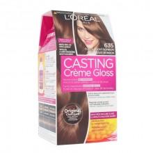 L´Oreal Paris Casting Creme Gloss Cosmetic 1ks 635 Chocolate Bonbon naisille 29549