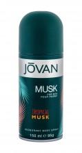 Jovan Tropical Musk Deodorant 150ml miehille 07944