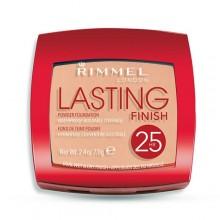 Rimmel London Lasting Finish 25h Powder Foundation Cosmetic 7g 004 Light Honey naisille 70599