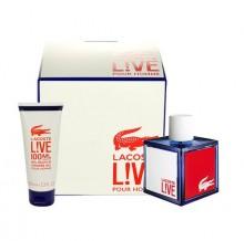 Lacoste Live Edt 100ml + 100ml shower gel miehille 90678