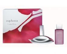 Calvin Klein Euphoria Edp 50ml + 100ml Body lotion naisille 56559