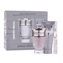 Paco Rabanne Invictus Edt 100 ml + Edt 10 ml + Shower gel 100ml miehille 35095