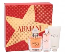 Giorgio Armani Emporio Armani Edp 50 ml + Edp 15 ml + Hand Cream 50 ml naisille 55755