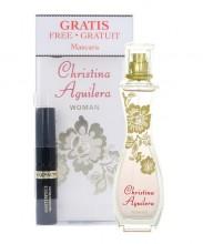 Christina Aguilera Woman Edp 30ml + 5,3ml Mascara Max Factor Masterpiece naisille 93488