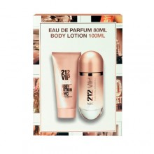 Carolina Herrera 212 VIP Edp 80ml + 100ml body lotion naisille 04889