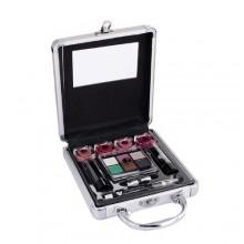 2K Beauty Basic Train Case Complete Makeup Palette naisille 40058