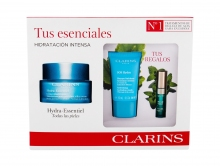 Clarins Hydra-Essentiel Moisturizing Cream 50 ml+ Facial Mask SOS Hydra 15 ml + Lip Gloss 2,8 ml 06 naisille 66825