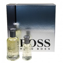 HUGO BOSS Boss Bottled Edt 100ml + 30ml Edt miehille 28271
