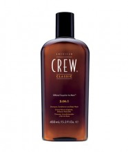 American Crew 3-IN-1 Shampoo, Conditioner & Body Wash Cosmetic 250ml miehille 58220