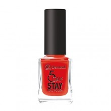 Dermacol 5 Day Stay Longlasting Nail Polish Cosmetic 11ml 19 Red Carpet naisille 59392
