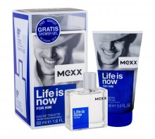 Mexx Life Is Now For Him Edt 50 ml + Shower Gel 150 ml miehille 49225