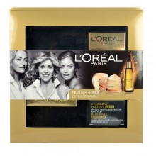 L´Oreal Paris Nutri Gold Extraordinary 50ml Nutri Gold Extraordinary Day Cream + 30ml Nutri Gold Extraordinary Oil naisille 48443