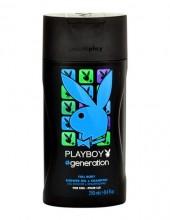 Playboy Generation For Him Shower gel 250ml miehille 21591
