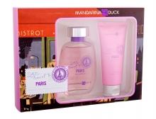 Mandarina Duck Let´s Travel To Paris Edt 100 ml + Shower Gel 100 ml naisille 13804