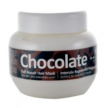 Kallos Chocolate Full Repair Hair Mask Cosmetic 275ml naisille 11036