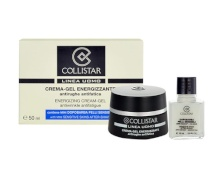 Collistar Men Energizing Cream-Gel 50 ml Men Energizing Cream-Gel + 15 ml After-Shave Balm Sensitive Skin miehille 80501