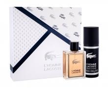 Lacoste L´Homme Lacoste Edt 100 ml + Deodorant 150 ml miehille 32088
