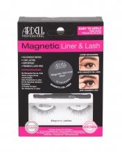 Ardell Magnetic Liner & Lash Magnetic Lashes 110 1 pair + Magnetic Gel Line 2 g Black + Liner Brush 1 pc Black naisille 68522