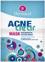 Dermacol AcneClear Face Mask 16g naisille 35203