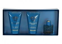 Versace Eros Edt 5ml + 25ml shower gel + 25ml aftershave balm miehille 10185